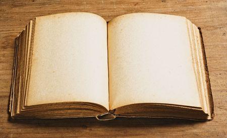 open space: Vintage book.