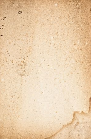 Close up shot of a blank vintage sheet of paper. Stock Photo - 3759856