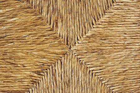 rattan chair texture detali, close up shot. photo