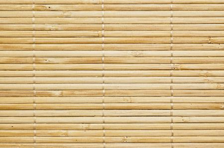 bamboo mat background, close up shot.