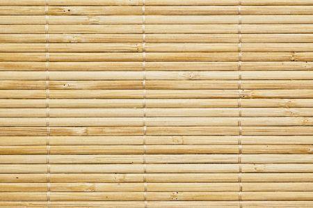 bamboo mat background, close up shot. Stock Photo - 3792055