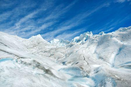 perito: Surface of Perito Moreno glacier, in patagonia, Argentina.