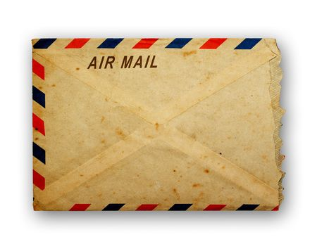 letter envelope: Vintage  envelope  Stock Photo