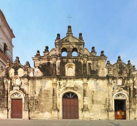 america centrale: Chiesa coloniale, Iglesia de la Merced, Granada, Nicaragua, America centrale.