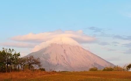 Nicaragua: Concepcion volcano in Ometepe island, Nicaragua.