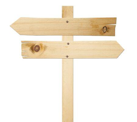 Wood arrow signs  photo