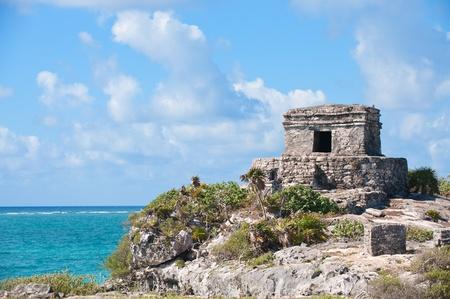 roo: Tulum maya ruins Quintana Roo, southern Mexico,