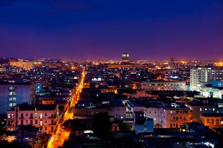 Stadsgezicht, Havana, Cuba. Stockfoto