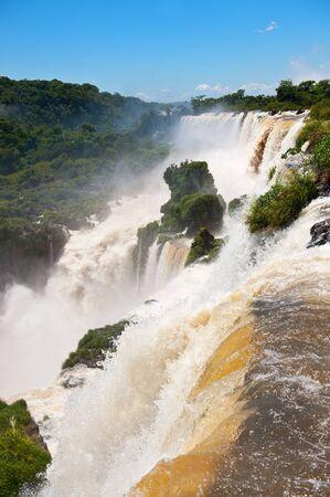Iguazu falls, one of the new seven wonders of nature. photo