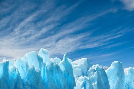 patagonia: Perito Moreno glacier, patagonia, Argentina.  Stock Photo