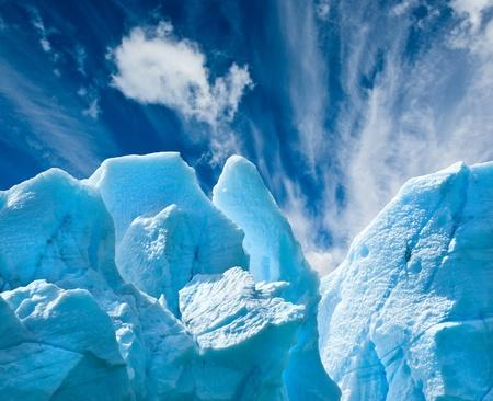 icescape: Perito Moreno glacier, patagonia, Argentina.  Stock Photo