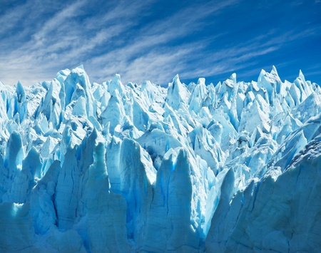 patagonia: Perito Moreno glacier, patagonia, Argentina. Copy space.