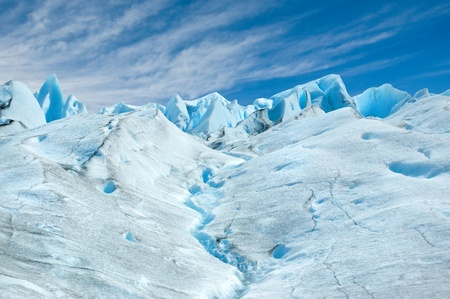 moreno: Perito Moreno glacier, patagonia, Argentina. Copy space.