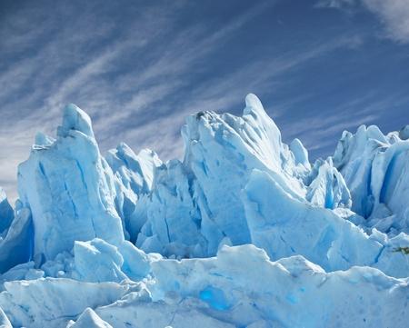 arctic: Perito Moreno glacier, patagonia, Argentina. Copy space.