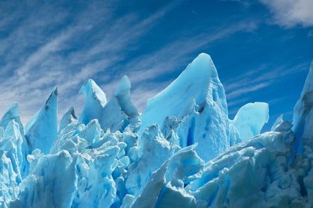 페리 모레노 빙하, 파타고니아, 아르헨티나. 공간을 복사합니다. 스톡 콘텐츠 - 13990646