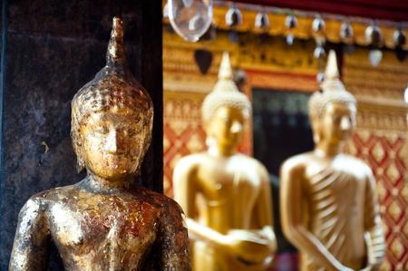 artifact: Buddhist Temple, Doi Suthep in Chiang Mai, Thailand Stock Photo