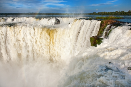 south american: Iguazu falls, one of the new seven wonders of nature.