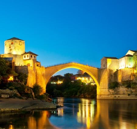 mostar: Mostar old bridge, Bosnia and Herzegovina