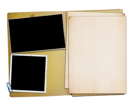 carpetas: Abrir carpeta de la vendimia con dos fotograf�as antiguas