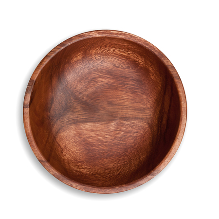 Wooden plate isolated clipping path Archivio Fotografico