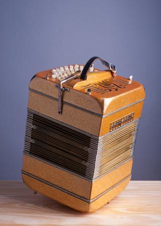 bandoneon: Bandoneon accordion, traditional musical instrument.