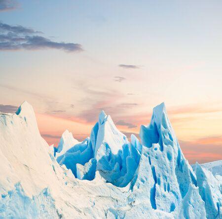Ice texture in Perito Moreno glacier, patagonia argentina. Reklamní fotografie