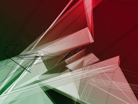 delineate: Blend art abstract background, digitally generated image.