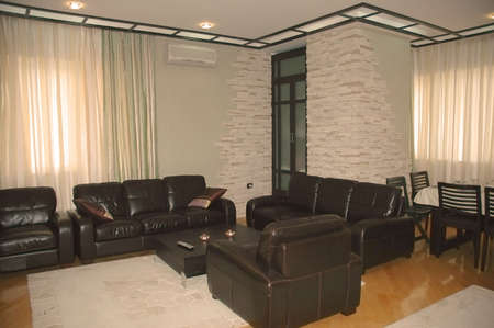 Modern living-room interior Stock Photo - 541745