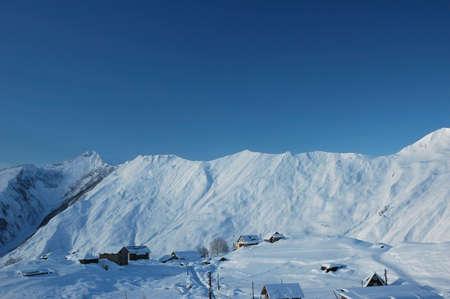 High mountains in winter - Georgia Stock Photo - 542181