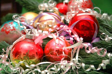 Various christmas decorations Stock Photo - 552556
