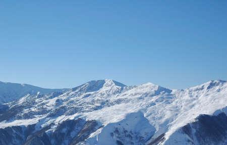 Winter mountains under snow - Georgia Stock Photo - 560998