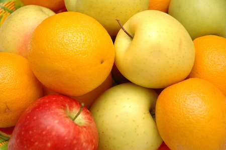 Various fruits on display in the market Stock Photo - 560877
