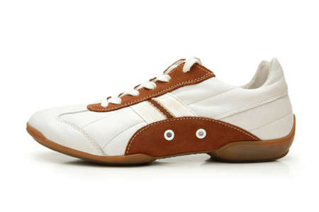 sport shoe: Sport shoe isolated on whte Stock Photo