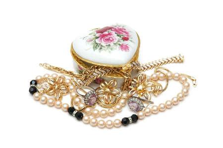Vaus jewellery isolated on white Stock Photo - 582756