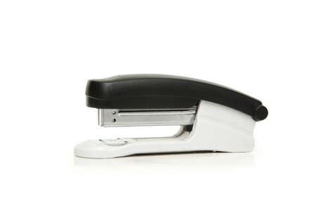 Office stapler isolated on the white background photo