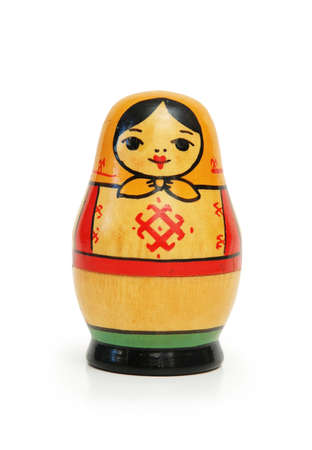 christmas military: Russian doll