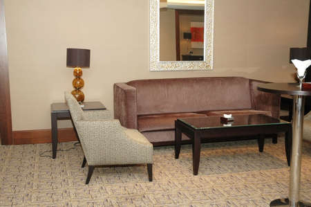 Lobby of the hotel with sofas and chairs Stock Photo - 729778
