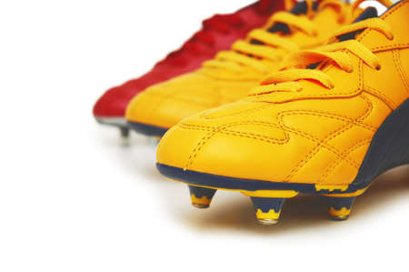 Football boots isolated on white background Stock Photo - 730241