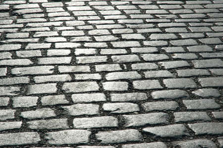cobbled: Cobbles on the street - can be used as background