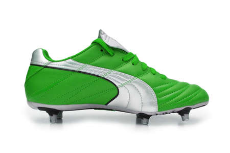 footware: Football boots isolated on the white  - more footware in my portfolio
