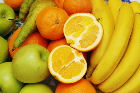 Various fruits on display Stock Photo - 778878