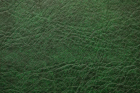 Pattern of green  leather - can be used as background Stock Photo