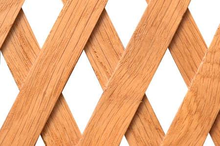 rhomb: Wooden trellis with rhomb shaped holes