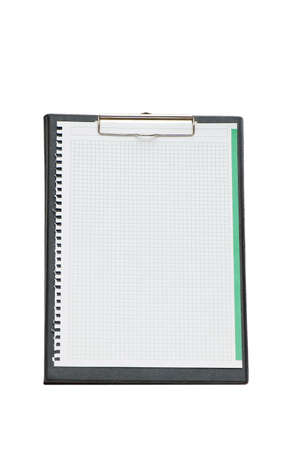 Open binder isolated on the white background Stock Photo - 2324189