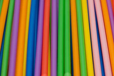 Drinking straws of many bright colors Stock Photo - 2711364