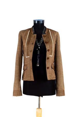 Stylish jacket isolated on the white background Stock Photo - 3651627