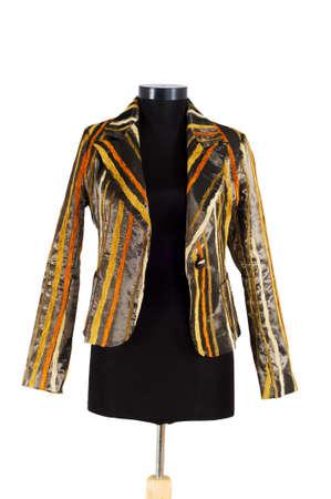 Stylish jacket isolated on the white background Stock Photo - 3847441
