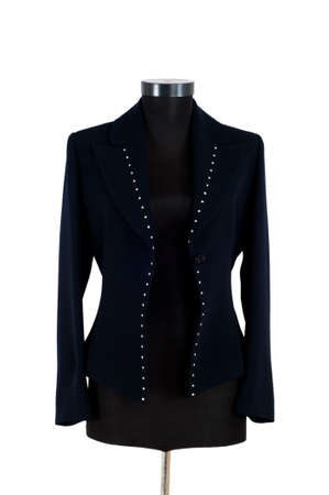 Stylish jacket isolated on the white background photo