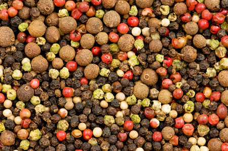 Close up selection of various pepper types Stock Photo - 3934977