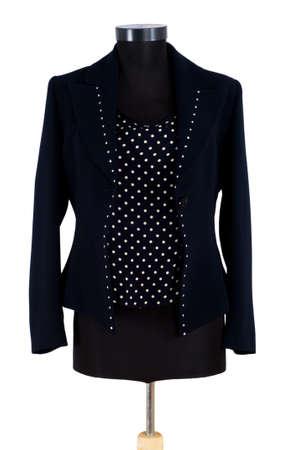Stylish jacket isolated on the white background Stock Photo - 3965486